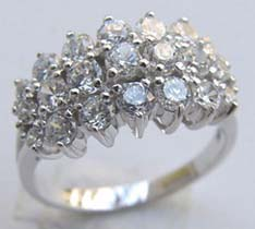 Making wholesale gemstone jewelry online supply wedding ring