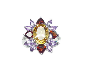 Antique lady's ring supplier online supply assorted cz stone ring